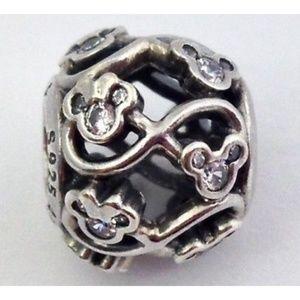 Pandora Disney Minnie & Mickey Infinity Charm